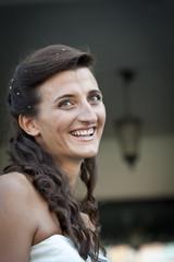 sorriso della sposa
