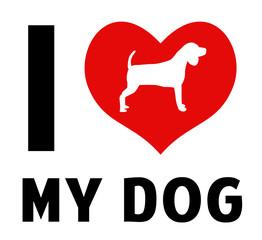 I love my dog image