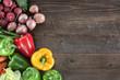 canvas print picture - Gemüse Hintergrund
