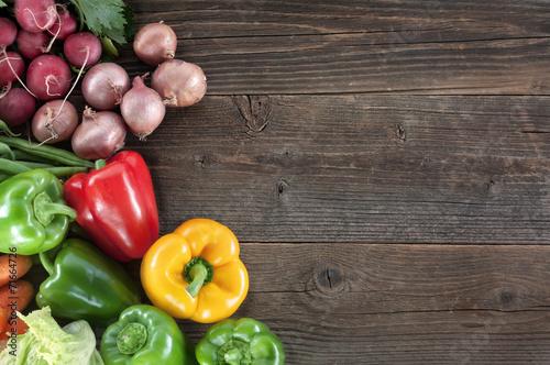 canvas print picture Gemüse Hintergrund