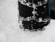 Snow chains winter