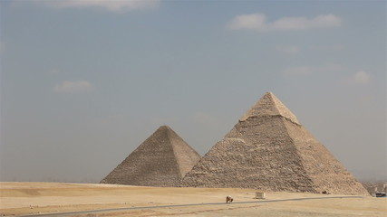 Great Pyramids of Giza. Egypt