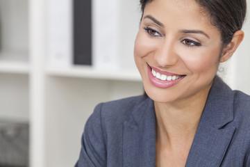 Beautiful Latina Hispanic Woman Businesswoman
