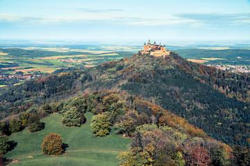 Hohenzollern im Herbst (digital Crossentwickelt)