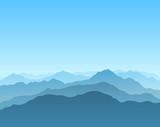 Fototapety mountain scenic