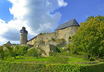 Medieval Zwernitz castle in Franconian Switzerland, Bavaria