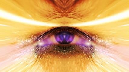 Bizarre eye divine