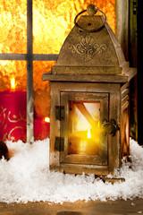 Weihnachts fenster dekoration
