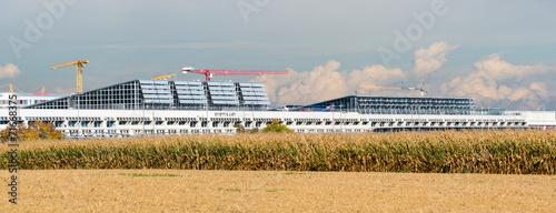 Foto op Plexiglas Luchthaven Flughafen Stuttgart