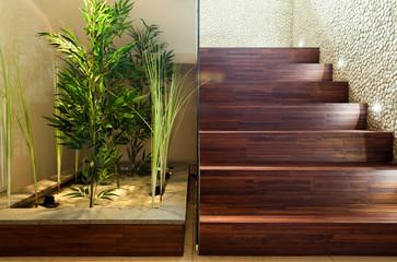 Beauty plants in hall