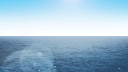 Flight over the ocean loop