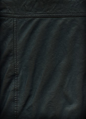 Leather background with Stitching
