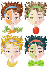 Vegetable Beauty Masks