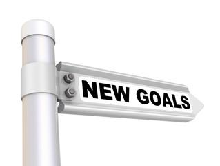 Новые цели (new goals). Дорожный указатель