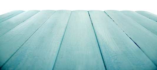 Wooden board on light background