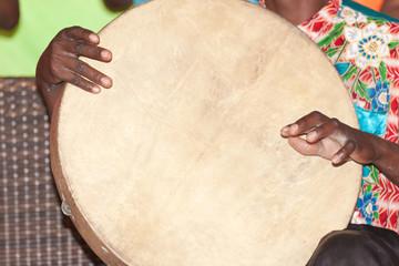 batteur de tambour, île Rodrigues