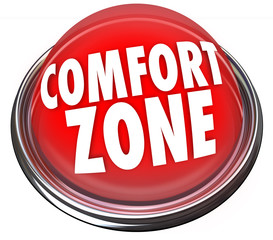 Comfort Zone Words Button Safety Security