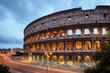 Fototapeta Włochy - Noc - Starożytna Budowla