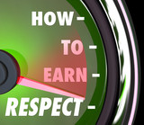 How to Earn Respect Reverence Achieve Good High Reputation Level poster