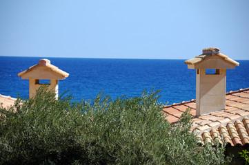 Греческие крыши