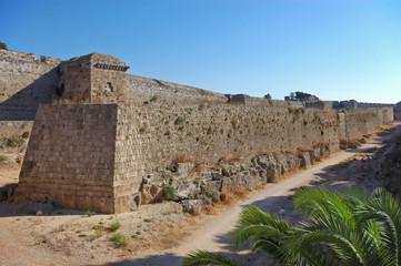 Родос, Стены старого города