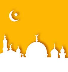 Islamic architecture background, Ramadan Kareem