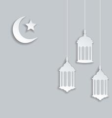 Arabic background for Ramadan Kareem