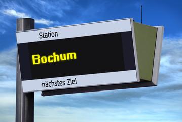 Anzeigetafel 6 - Bochum