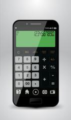 Smartphone with calculator