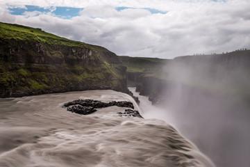 Gullfoss la chute d'or en islande