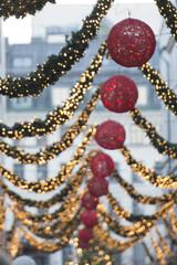 christmas streets lights