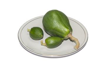 Small Green papaya