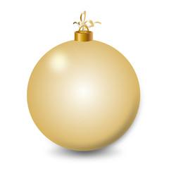 christmas bell symbol gold