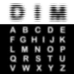 dim alphabet