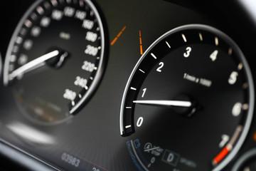 Car dashboard detail