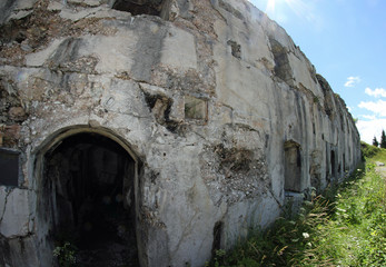 Fort Sommo used from the austro Hungarian army during World War