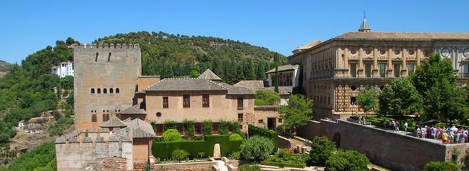 L'Alcazaba de l'Alhambra de Grenade