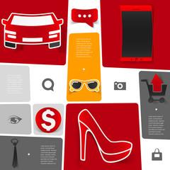 Fashion infographic