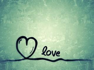 love - Liebe / Hintergrundbild