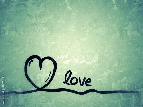 canvas print picture love - Liebe / Hintergrundbild