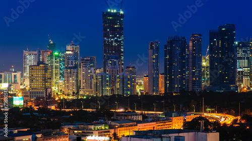 Foto op Aluminium New York skyline of manila city, philippines