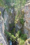 Maligne Canyon in Alberta poster