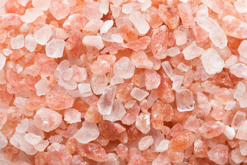 Pink salt background