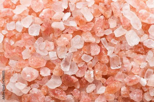 Pink salt background - 71681155