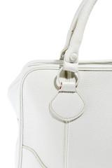 Preview ladies fashionable white leather handbag