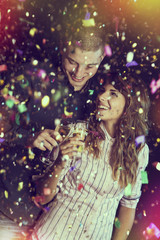 Romantic and fun New Year's celebration