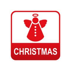 Etiqueta app abajo CHRISTMAS con angel