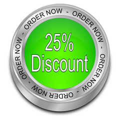 25% Discount - Order now Button