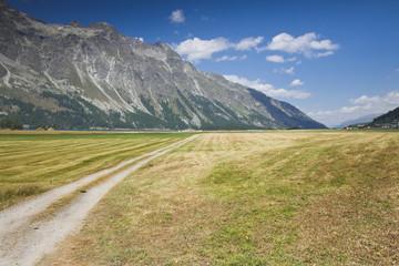 Walking around Sils lake (Switzerland - Engadine)