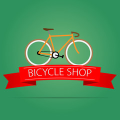 Bike shop icon